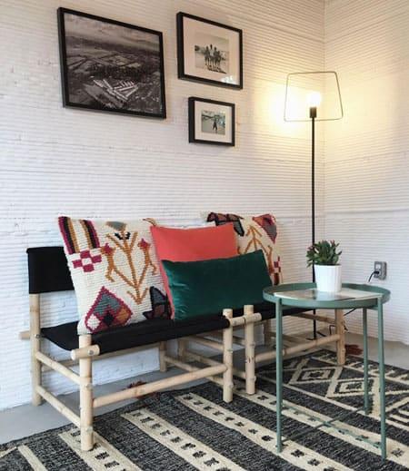 Austin Printed Home Living Room