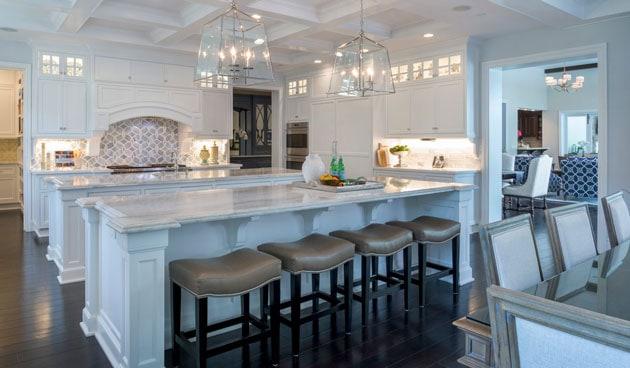 Berkshire House La Canada Open Kitchen Interior