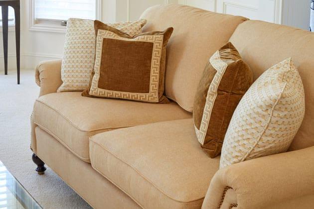 Grousemont Estates Greek Key Print Pillows