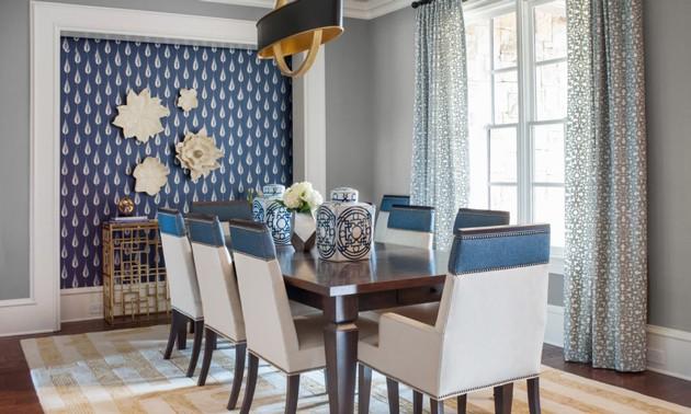 Modern Luxury Home Dining Room Design