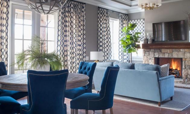 Modern Luxury Home Living Room Design