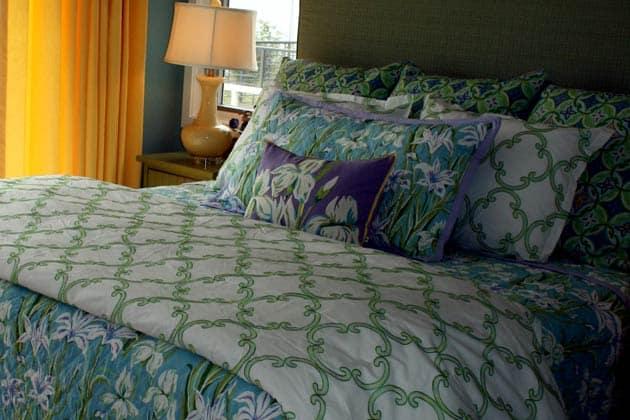 Quatrefoil Print Bedroom Design