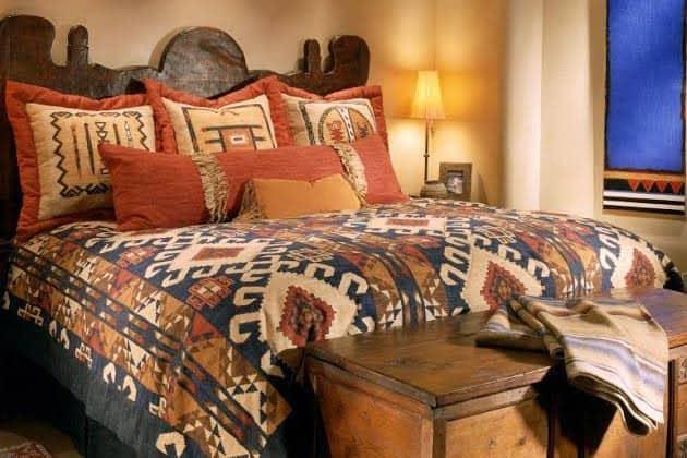 Southwest Pattern In Bedroom