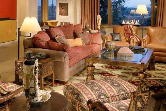 Southwest Pattern In Living Design