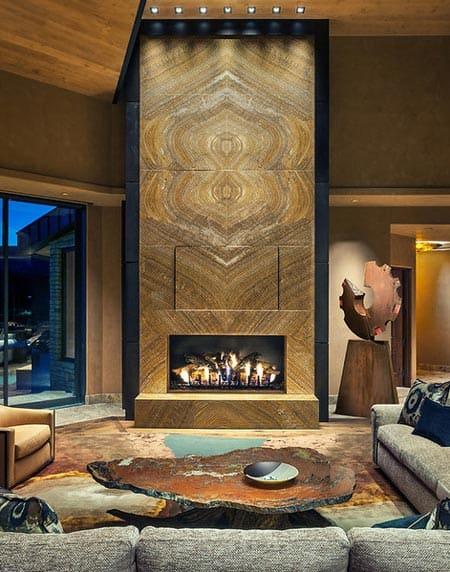 Masterpiece Fireplace Design