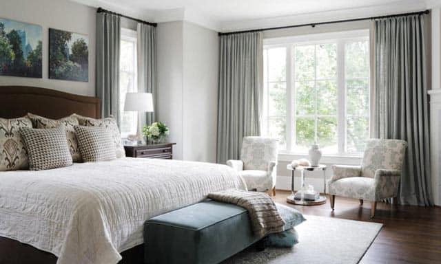 Nandina Atlanta Interior Design Transitional Bedroom