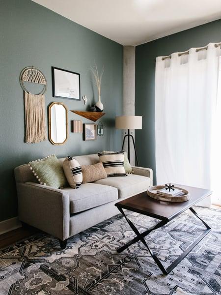 Downtown Austin Living Room Design