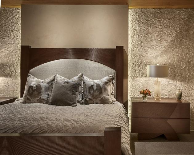 Modern Hill Top Home Bedroom Design