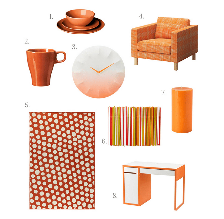 ikea orange wish list