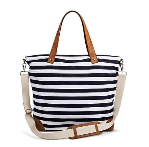 blue-striped-canvas-tote-bag
