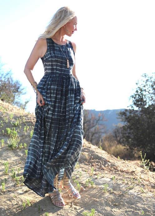shibori-maxi-dress