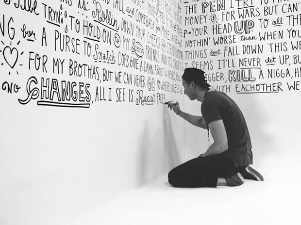 typography-wall-mural