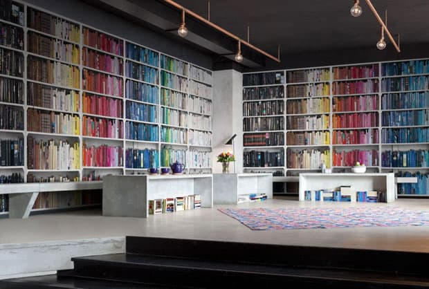 colourful-library