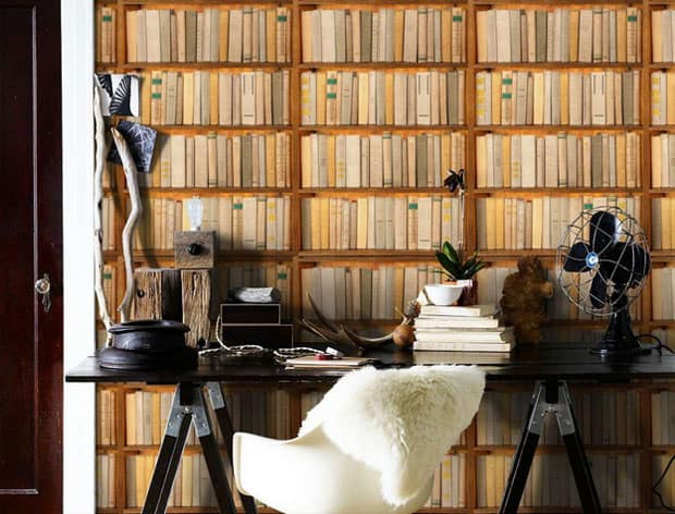 wall-mural-library