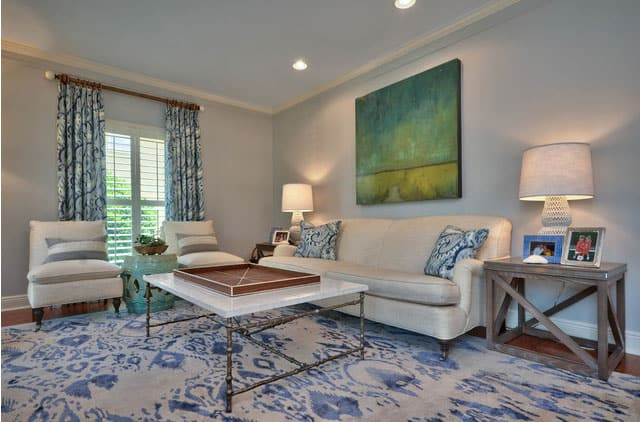 water-color-style-rug-in-living-room
