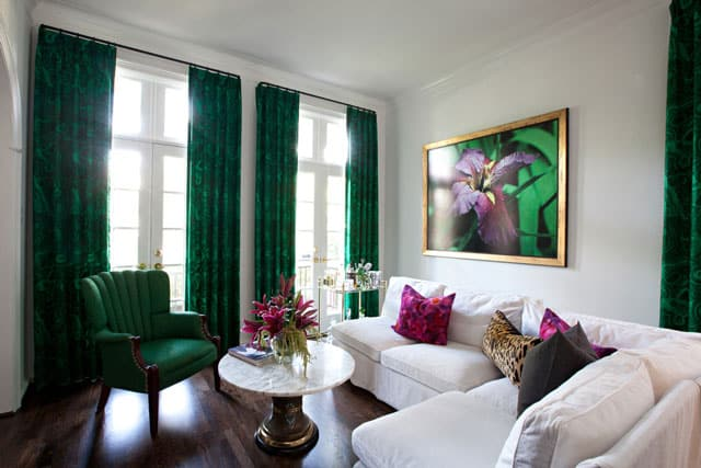 leopard-pillow-marble-table-green-green-living-room