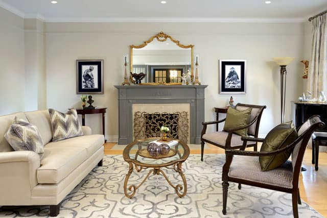 living-room-fire-place-interior-royal-york-toronto