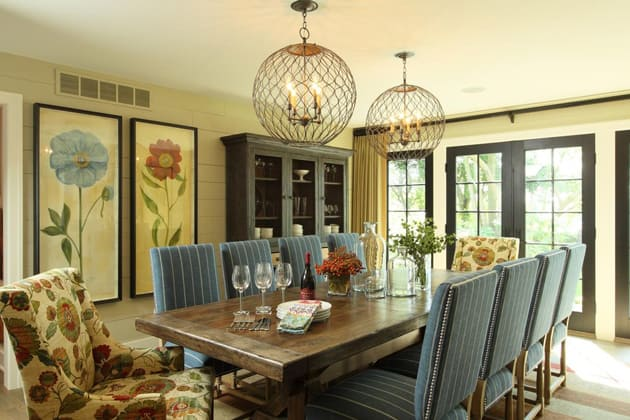 Azalea Cottage Dining Room Design
