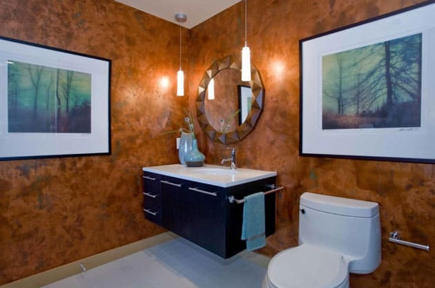 Bathroom Design Mirror Decor