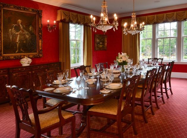 Grand Ridge Regency Period Inspired Dining Design