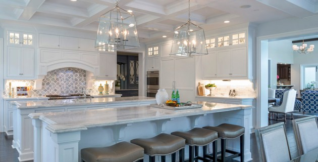 Color Palettes For A Luxury Kitchen Interior