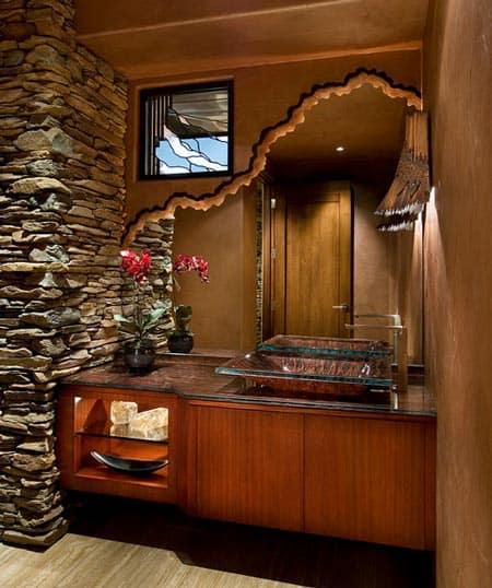 Gorgeous Powder Room Interior