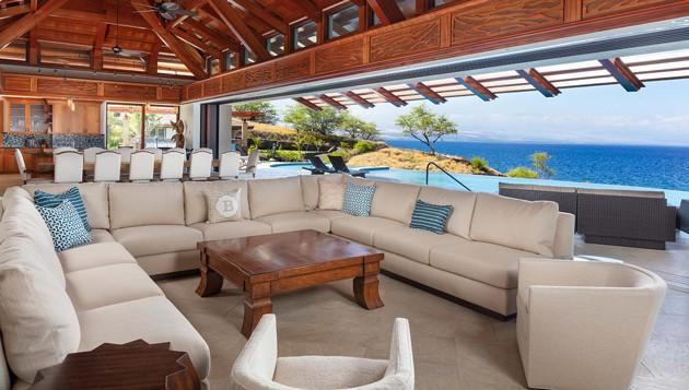 Hawaii Luxury Home Grand Room Interior Design