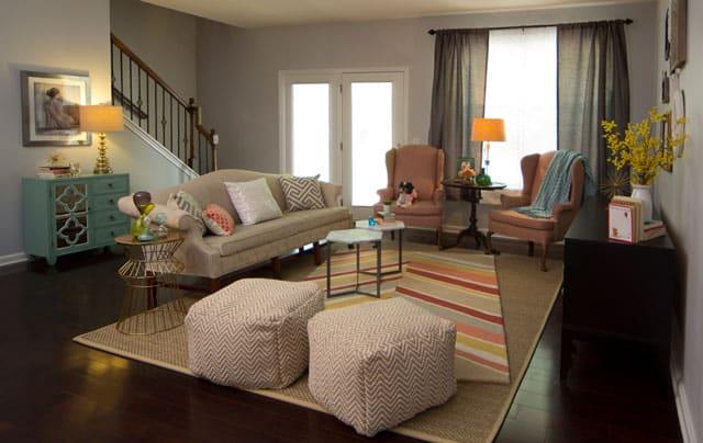 Living Room Light Airy Vra