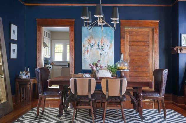 Atlanta Bachelor Dining Room Design