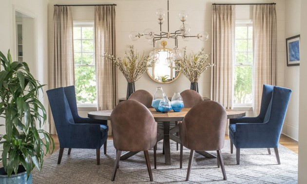 Formal Dining Room Modern Chandelier
