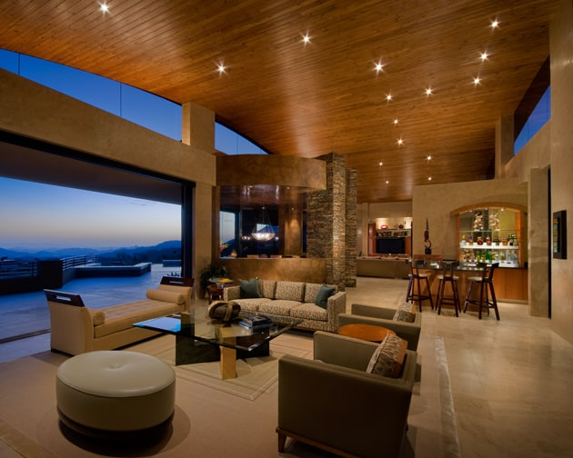 Luxury Living Room Design Arizona