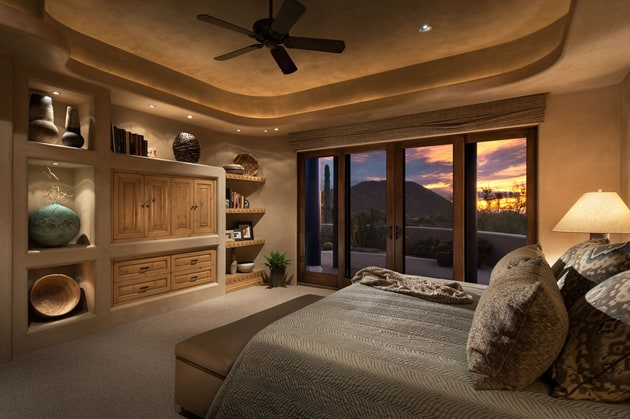 Master Bedroom Interior Design Arizona