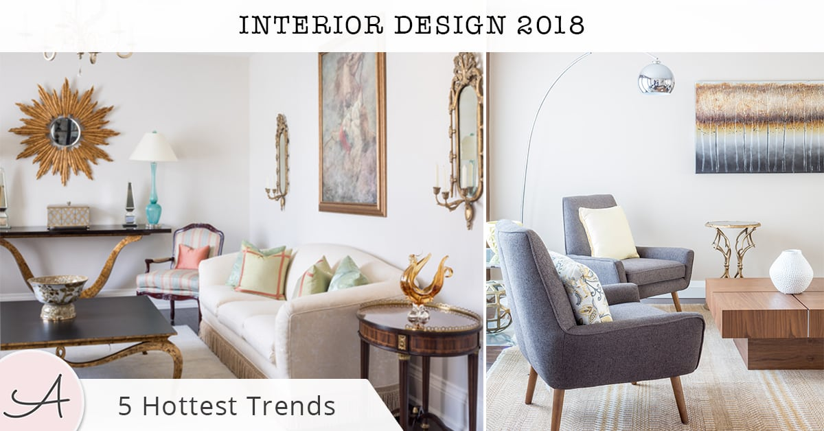 Top interior design trends of 2018 - Interior design trends 2018 ...