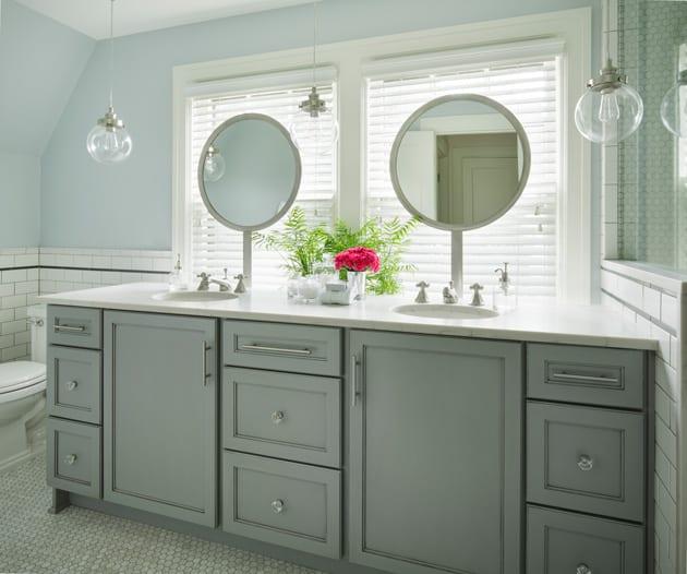 Balanced Interior Bathroom