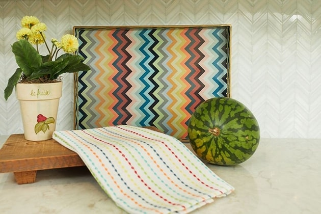 Beach House Beatuiful Chevron Accents