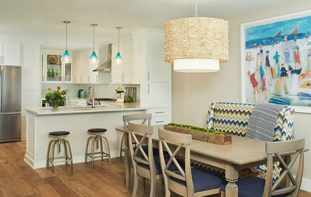 Beach House Open Kitchen Design