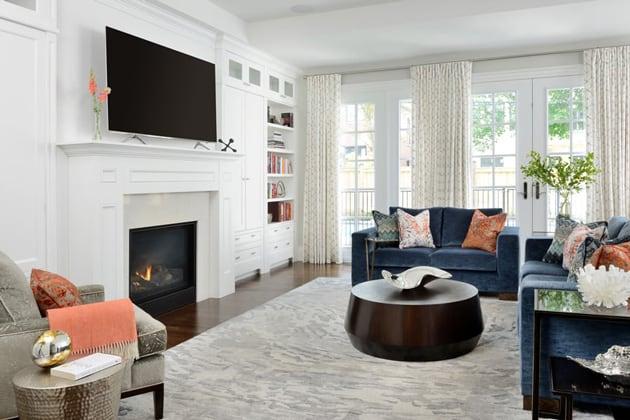 Bedford Park Nortown Family Room Design