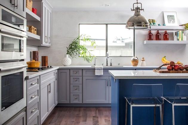 Open Shelves Design In Kitchen