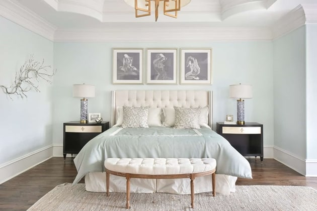 Peachtree Dunwoody Master Bedroom Interior Design