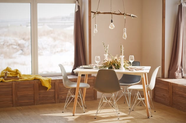 Unsaturated Browns In Interiors