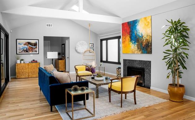 Joy Street Design Living Room