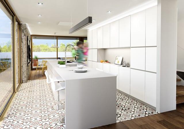 Kitchen Accent Tiling