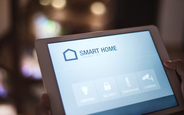 Tablet With Smart Home Screen