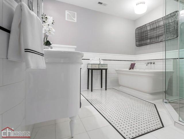 Chicago Loft Master Bath General Contractor