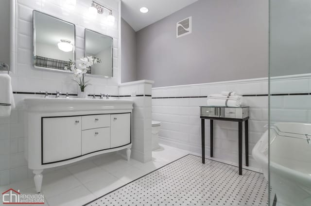 Chicago Timber Loft Bathroom Reno