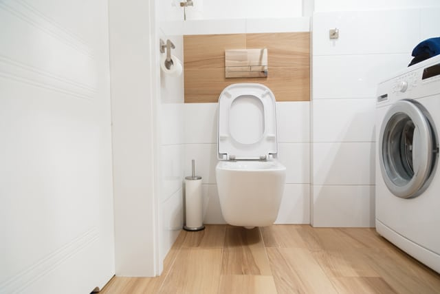 Interior Modern Stylish Bathroom