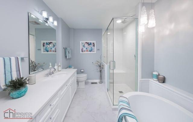 Bathroom Artistic Touch Design