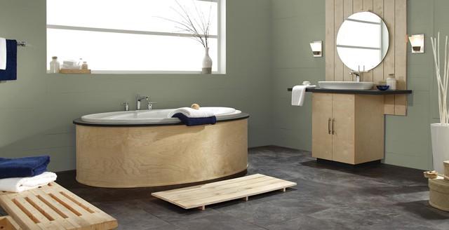 Bathroom Relaxed Green
