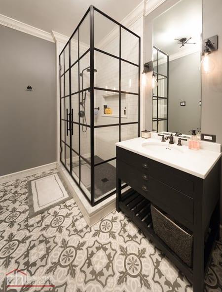 Independent Shower Bathroom Design