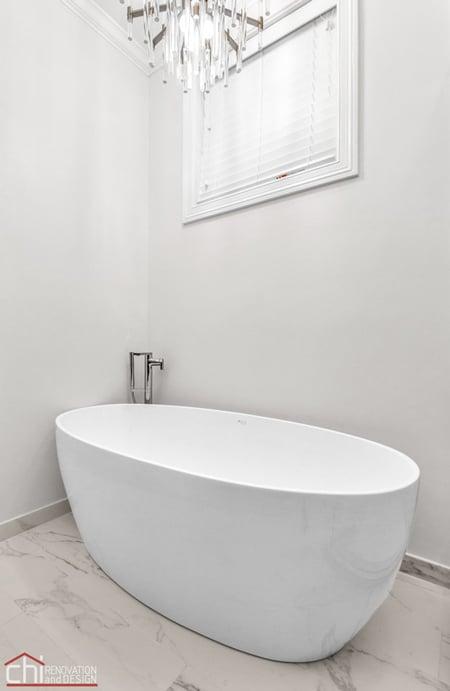 Ranch Triangle Bathtub Design Chicago
